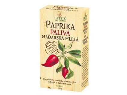 Paprika pálivá maďarská mletá 100g