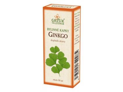 Grešík Ginkgo kvapky 50 ml