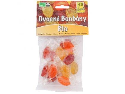 3857 ovocne bonbony bez cukru bio 75 g