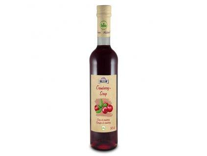 4292 sirup brusinka holderhofbio 500 ml