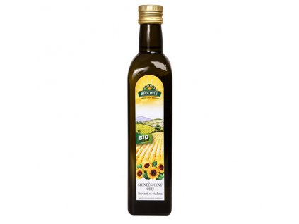 4442 biolinie slunecnicovy olej lis za studena bio 0 5 l