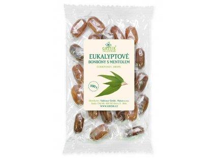 Grešík Eukalyptové cukríky s mentolom 100 g