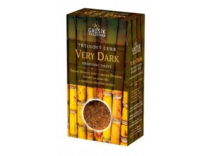 Grešík Cukor Very Dark trstinový prírodný tmavý 300 g