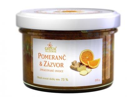 Džem Pomaranč & Zázvor 215 g