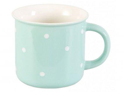 4046 vreni porcelanovy hrnek 0 3 l matovy zeleny