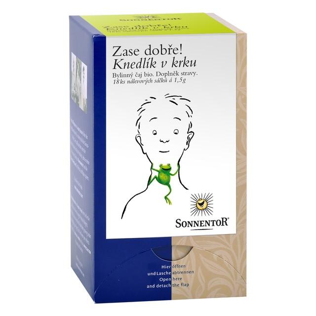 Sonnentor Čaj BIO - Knedlik v krku 27 g prebal zdrav.