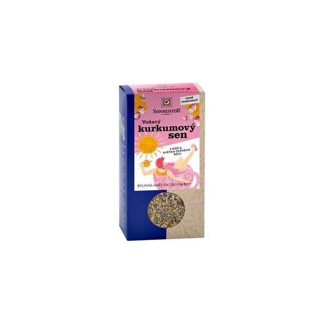 Čaj BIO - Voňavý kurkumový sen syp. 100 g SONNENTOR