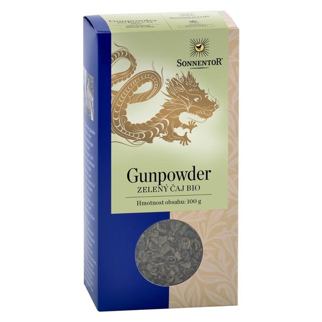 Sonnentor Čaj BIO - Zelený Gunpowder syp. 100 g