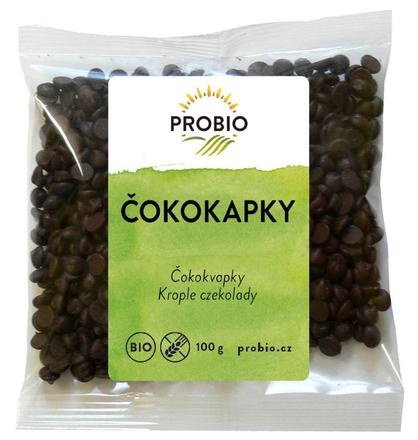PRO-BIO obchod.spol. s r.o. Čokokvapky BIO 100 g