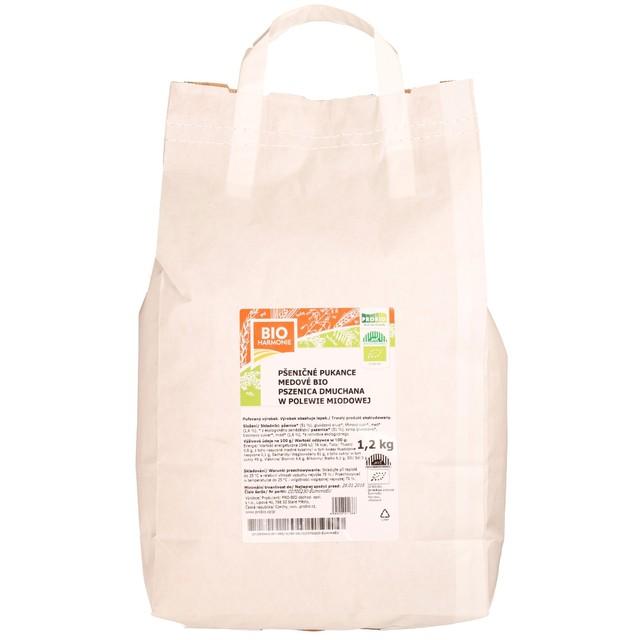 PRO-BIO obchod.spol. s r.o. Pukance pšeničné medové 1,2 kg BIO
