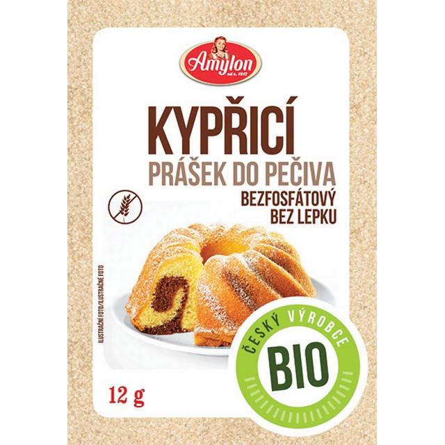 Amylon, a.s. Kypriaci prášok do pečiva AMYLON BIO 12 g
