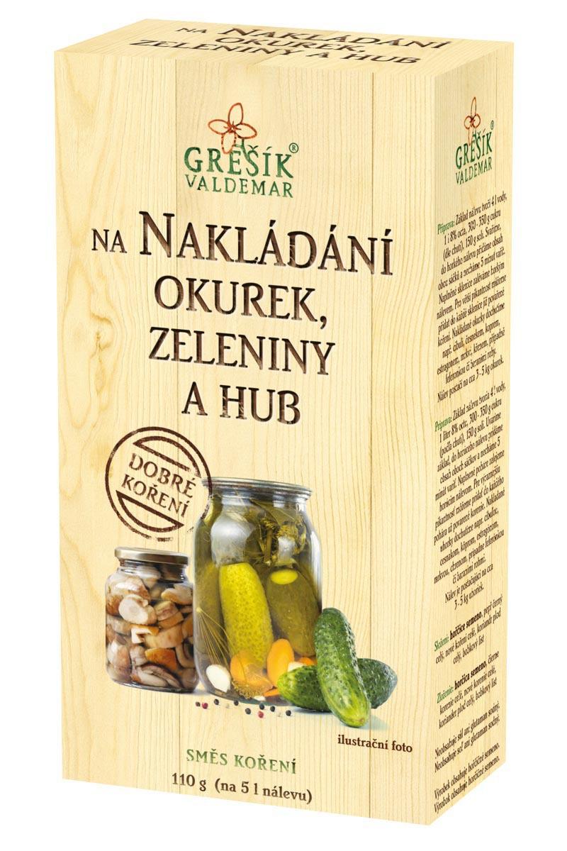 Valdemar Grešík - Natura s.r.o. Grešík Na nakladanie uhoriek, zeleniny a húb 110 g