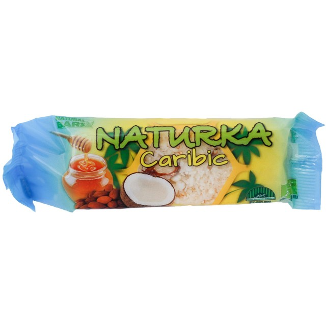 Natural Bars, s.r.o. Naturka Caribic BIO (snack) 30 g