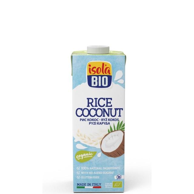 ABAFOODS S.r.l. Ryžový nápoj kokosový Isola BIO 250 ml
