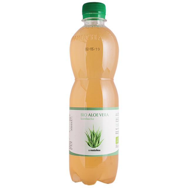 STEVIKOM s.r.o. BIO kombucha Aloe Vera 500 ml