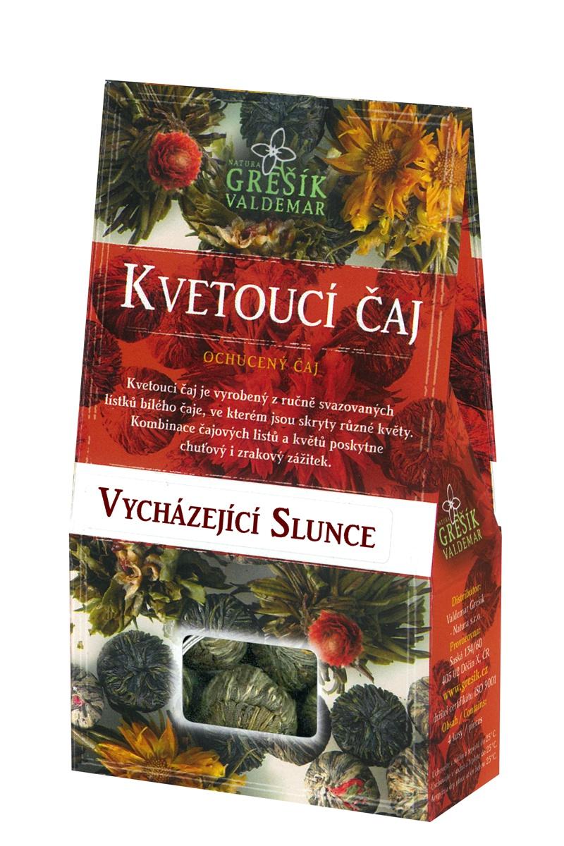 Valdemar Grešík - Natura s.r.o. Grešík Kvitnúci čaj vychádzajúce slnko 4 ks