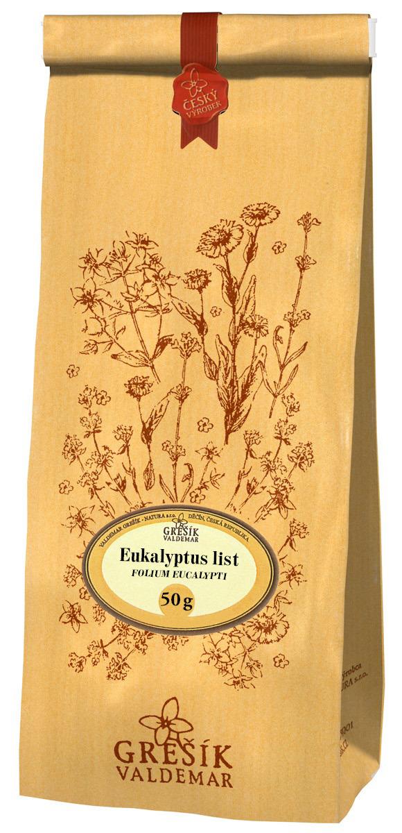 Valdemar Grešík - Natura s.r.o. Grešík Eukalyptus list 50 g