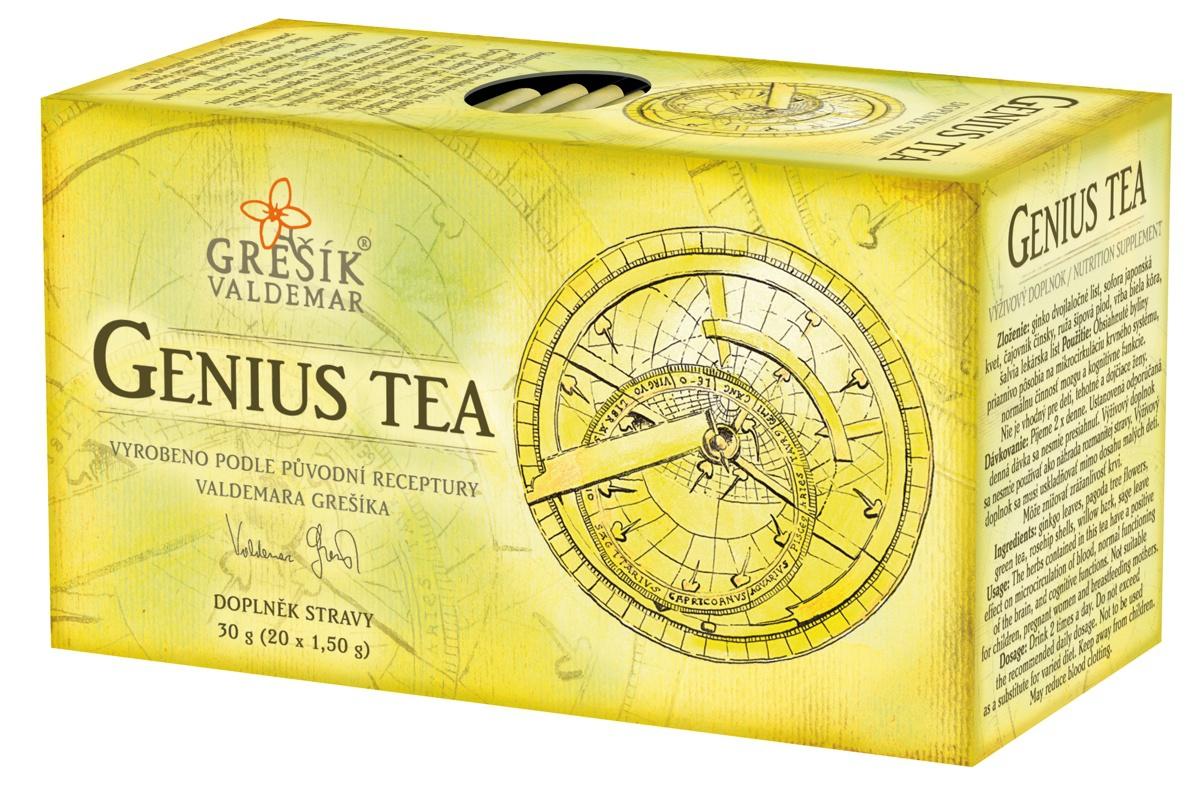 Valdemar Grešík - Natura s.r.o. Grešík Genius Tea 20 x 1,5 g