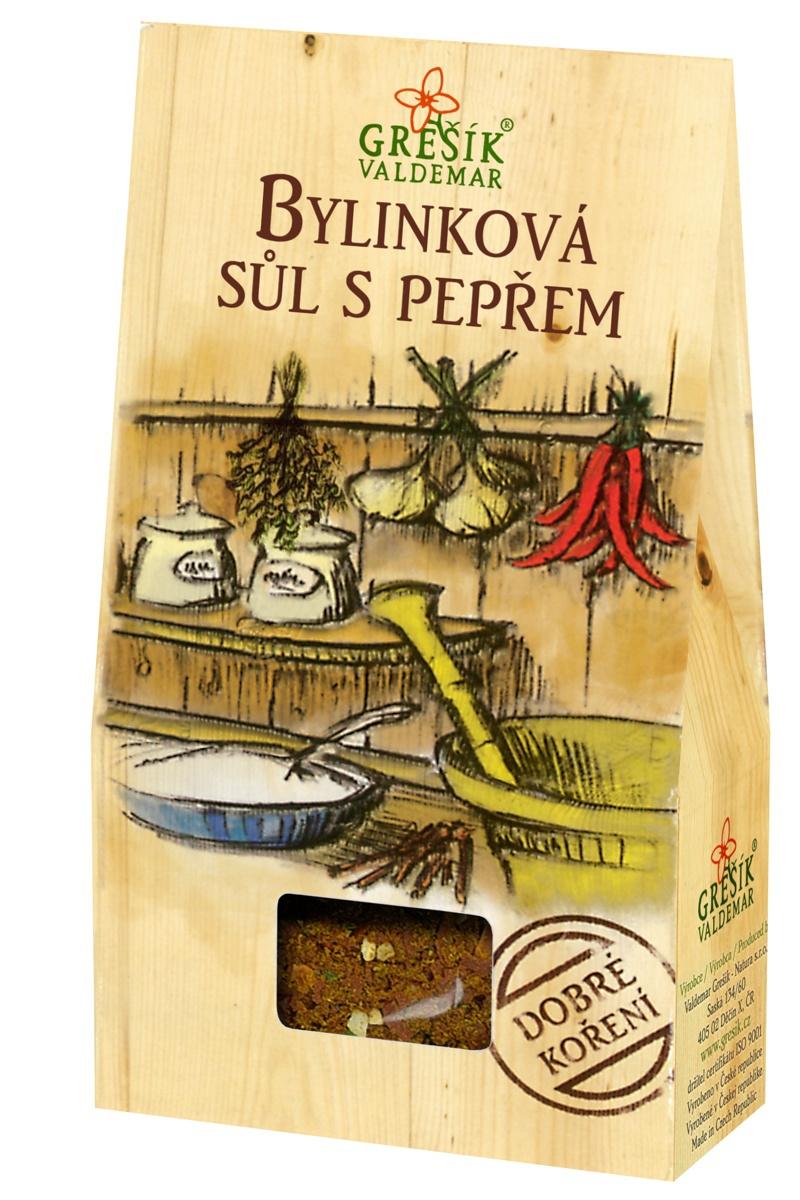 Valdemar Grešík - Natura s.r.o. Grešík Bylinková soľ s peprom 40 g