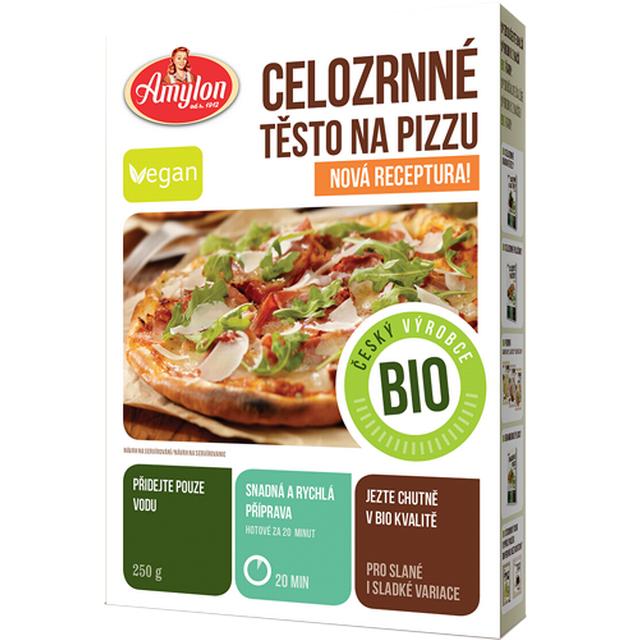 Amylon, a.s. Celozrnná pizza v prášku Amylon BIO 250 g