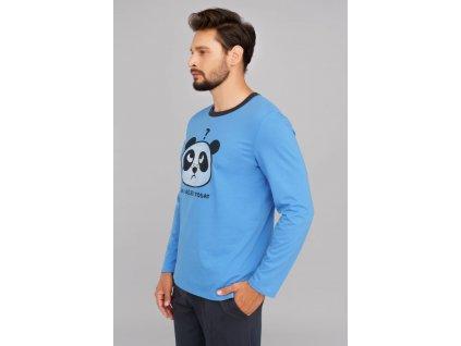 JUGO pánské dlouhé pyžamo modrá