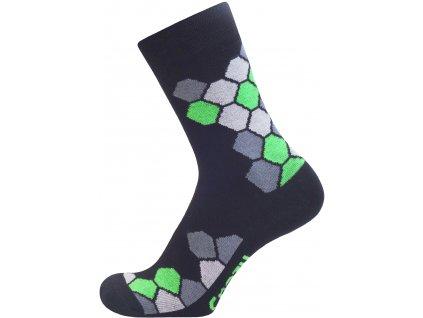 AMARO černo zelená
