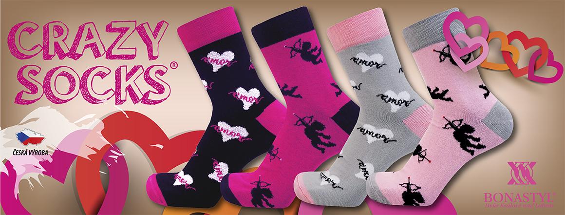 Zamilované ponožky AMOR