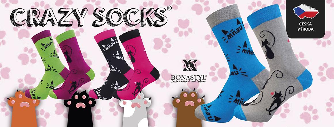 CATTY veselé ponožky KOČKA