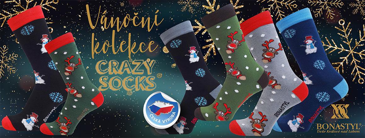 Veselé vánoční ponožky