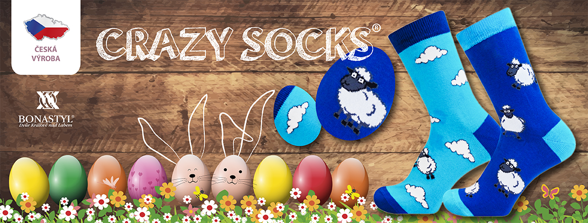 Veselé ponožky SHEEP