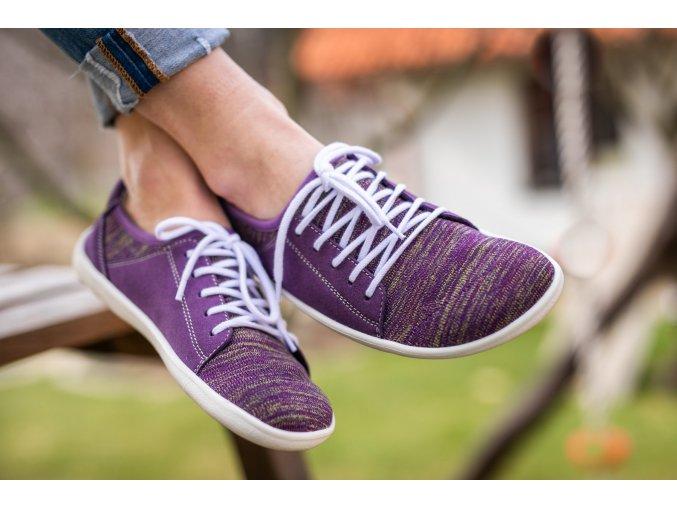 barefoot tenisky be lenka ace purple 1756 size large v 1