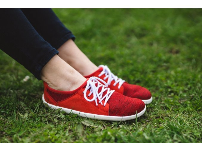 barefoot tenisky be lenka ace red 19663 size large v 1