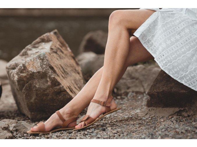 barefoot sandale be lenka grace brown 20443 size large v 1