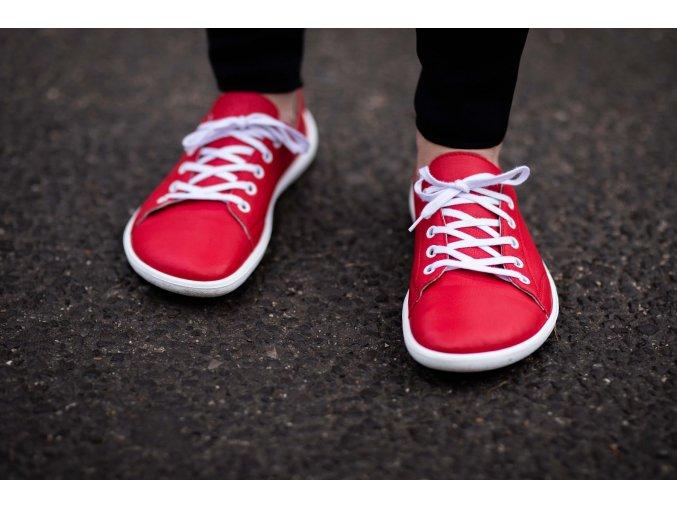 barefoot tenisky be lenka prime red 12187 size large v 1