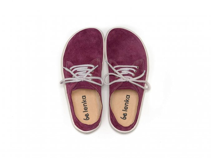 barefoot be lenka city plum white 17371 size large v 1