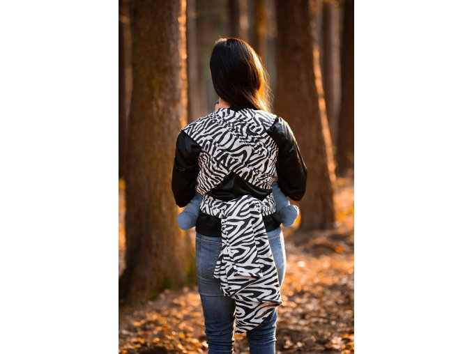 satka be lenka zebra black white 18850 size large v 1