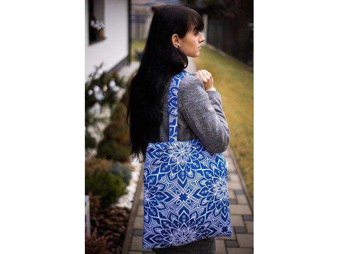 taska be lenka mandala kralovska modra 18091 size large v 1