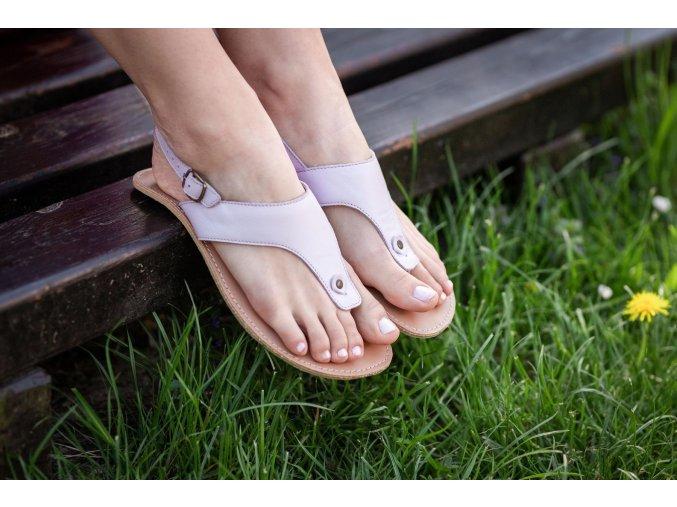 barefoot sandale be lenka promenade light lilac 20716 size large v 1
