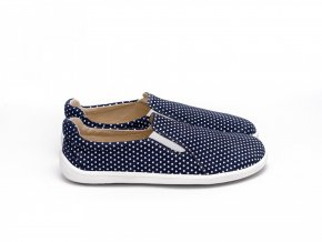 barefoot be lenka eazy dark blue with dots 2002 size large v 1