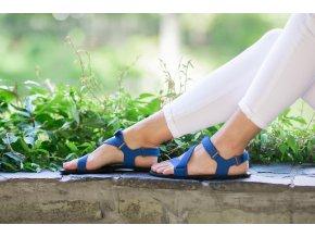 barefoot sandale be lenka flexi blue 14878 size large v 1
