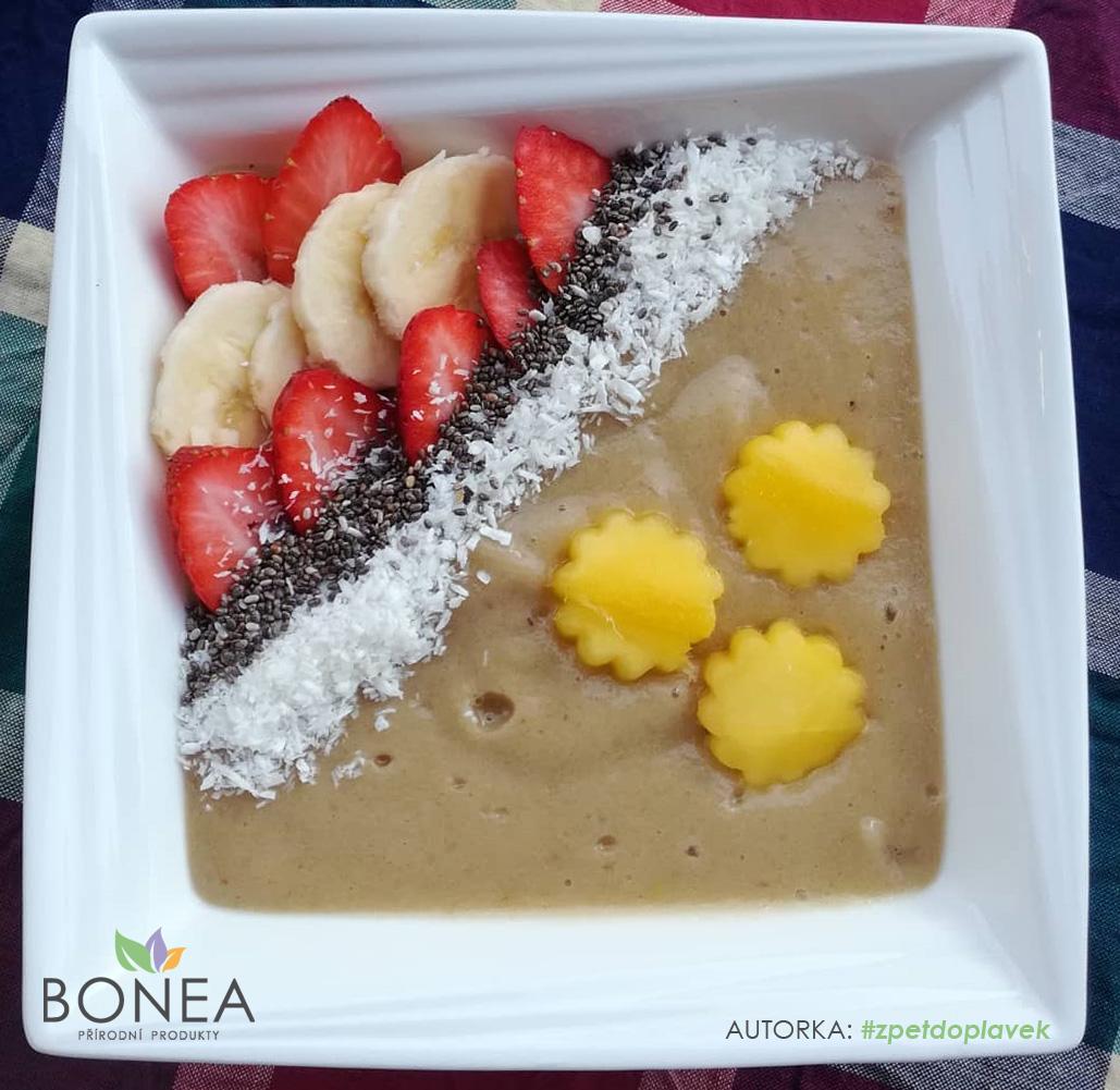 Ranní smoothie do misky Banán a mango