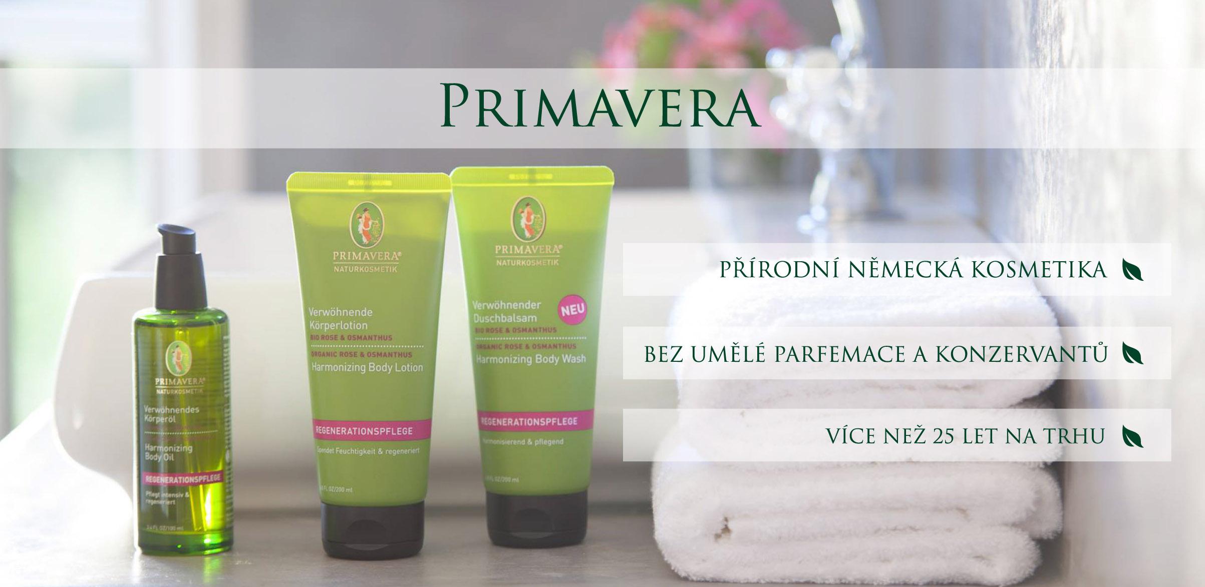 Přírodní kosmetika Primavera