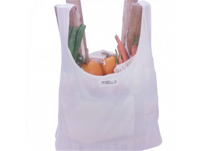Re sack shopping bag losstaand