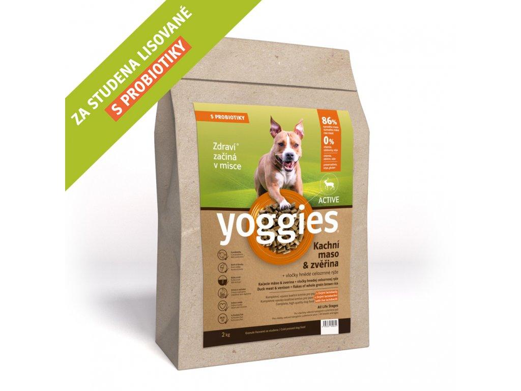 Yoggies Active, Kachna a zvěřina