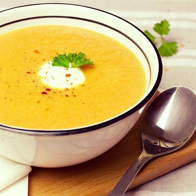 zdravá mrkvová polévka