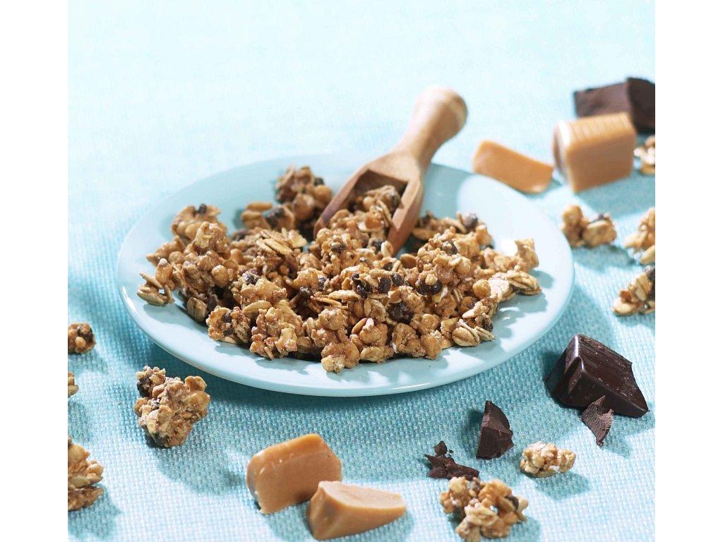 Bonedere proteinové čokoládovo-karamelové müsli