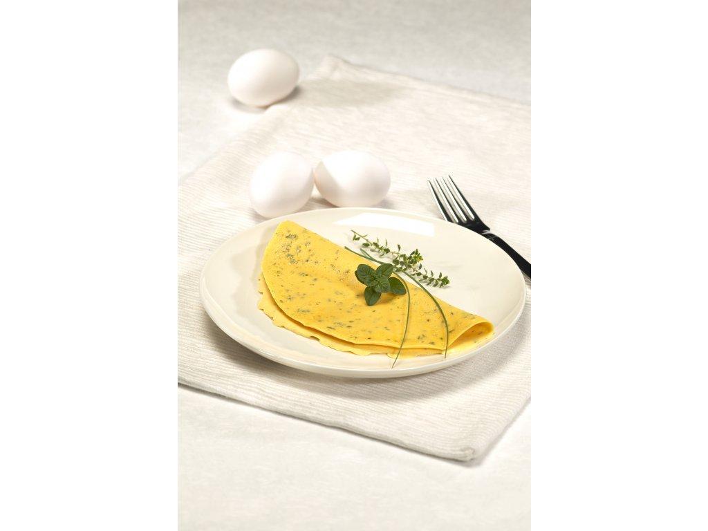 Bonedere proteinová omeleta s provensálskými bylinkami