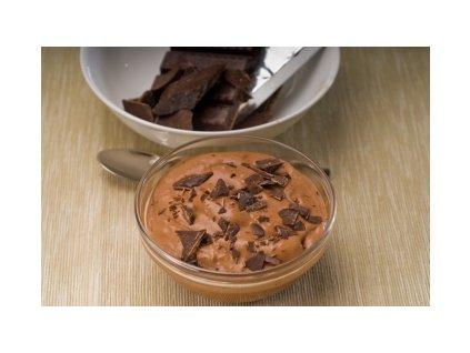 Čokoládový dezert s proteiny