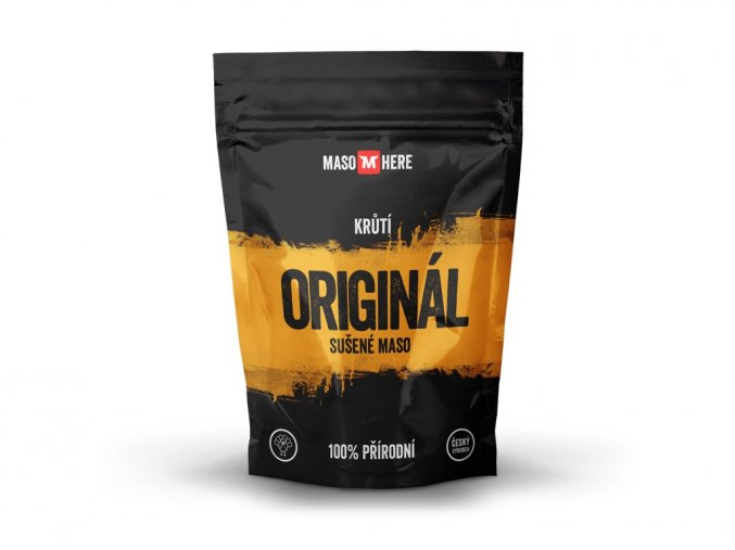 Maso Here - Sušené krůtí maso Originál 25 g