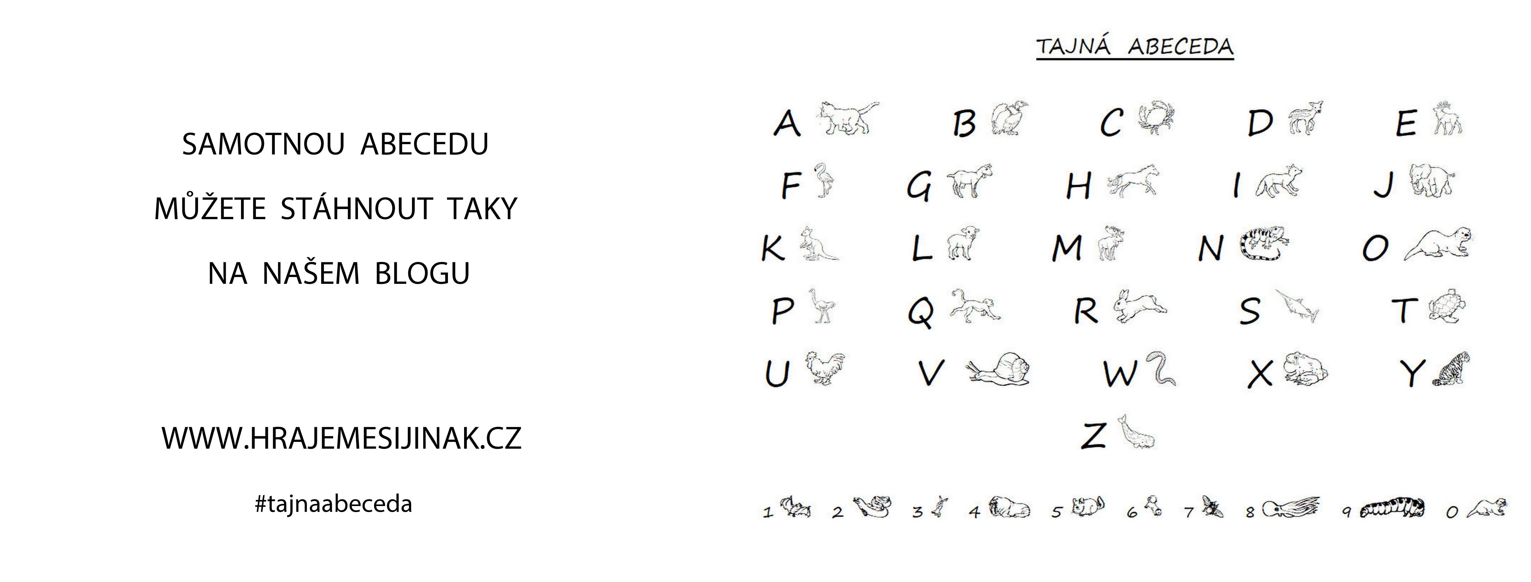 Chci jenom abecedu